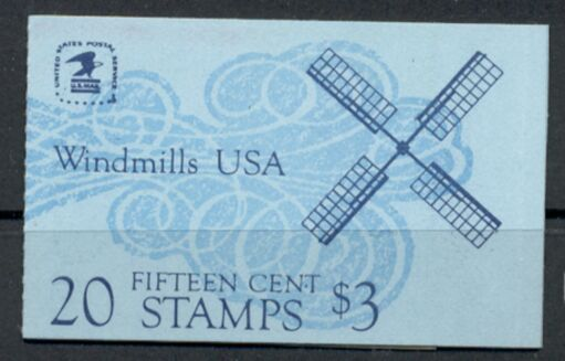 US Stamp #BK135 MNH Unexploded Booklet w/2 #1742a Panes