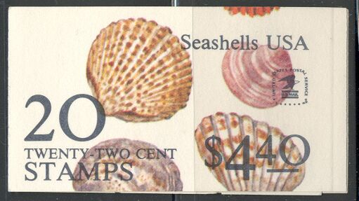 US Stamp #BK146 MNH Unexploded Booklet w/2 #2121a Panes