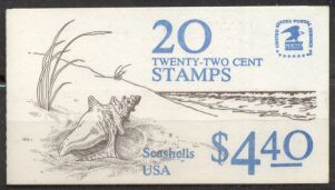 US Stamp #BK147 MNH Unexploded Booklet w/2 #2121a Panes