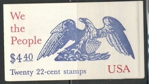 US Stamp #BK162 MNH Unexploded Booklet w/2 #2359a Panes
