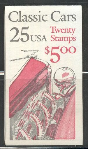 US Stamp #BK164 MNH Unexploded Booklet w/4 #2385a Panes
